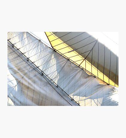 Diagonsails Photographic Print