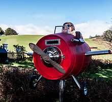 Porco Rosso Letterbox by Josie Jackson
