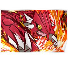 Groudon | Eruption  Poster