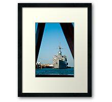 USS Denver Framed Print