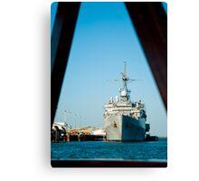 USS Denver Canvas Print