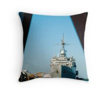 USS Denver Throw Pillow