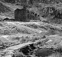 Cwm Orthin Old Slate Mines Snowdonia by Nick Jenkins