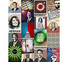Conservatives Collage Photographic Print