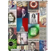Conservatives Collage iPad Case/Skin