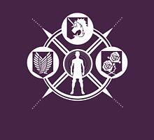 Shingeki no Kyojin: Choose Your Faction - Plain Unisex T-Shirt