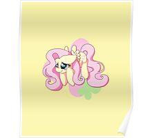 Chibi Flutter Shy Poster