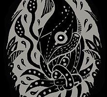 Tangled Squid by Elizabeth Dibois