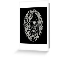 Tangled Squid Greeting Card