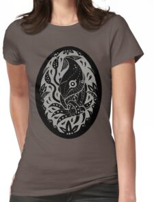 Tangled Squid Womens Fitted T-Shirt