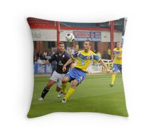 Eye on the ball. Throw Pillow