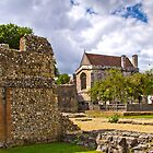 Wolvesey Castle, Winchester by vivsworld