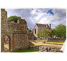 Wolvesey Castle, Winchester Poster