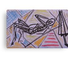 Holiday drawing 2013 #1 Boyfriend sunbathing Canvas Print
