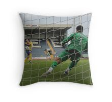 Penalty Shootout Throw Pillow