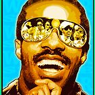 STEVIE WONDER: I WONDER by SOL  SKETCHES™