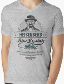 Blue Crystals Remedy Mens V-Neck T-Shirt