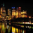 Reflections on Melbourne - Australia by Norman Repacholi