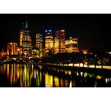 Reflections on Melbourne - Australia Photographic Print