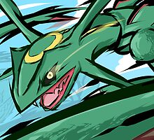 Rayquaza | ExtremeSpeed by ishmam
