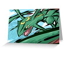 Rayquaza | ExtremeSpeed Greeting Card