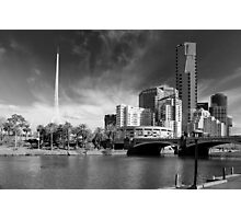 Melbourne's Twin Towers Photographic Print