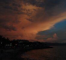 the dark side of a sunset III - el lado oscuro de una puesta del sol by Bernhard Matejka