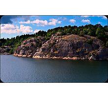 Norway fjord Photographic Print