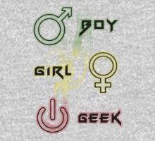Boy, Girl and Geek T-Shirt by Gokulakrishnan Purushothaman
