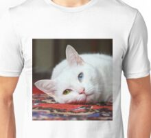 Charlie The White Pussy Cat Unisex T-Shirt