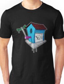 Dirty Earth Birdhouse Unisex T-Shirt