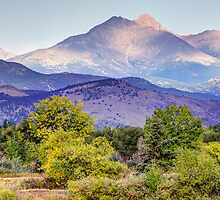 Sweet September Morning Mountain View by Greg Summers