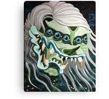 Devil Head Ghost Canvas Print