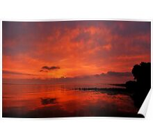 And another sunrise at the Baltic Sea Poster