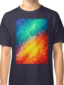geometry color triangle abstract Classic T-Shirt