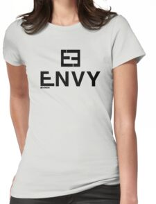 ENVY PARODY DESIGN INSPIRED BY FENDI Womens Fitted T-Shirt