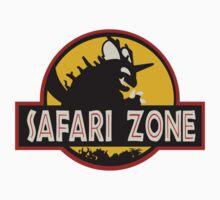 Safari Zone (Jurassic Park Style) One Piece - Short Sleeve