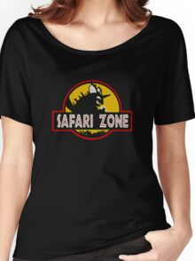 Safari Zone (Jurassic Park Style) Women's Relaxed Fit T-Shirt