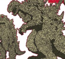 Evolution of King of Monsters Sticker