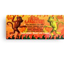 1956 2016 Chinese zodiac born in year of Fire Monkey  Metal Print
