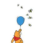 Winnie the Pooh in Colour by ChloeJade