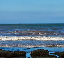 COVE BAY - LINE OF WAVES by JASPERIMAGE