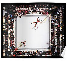 Muhammed Ali after knocking out Cleveland Williams Poster