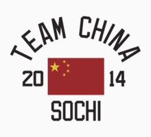 Team China - Sochi 2014 by monkeybrain