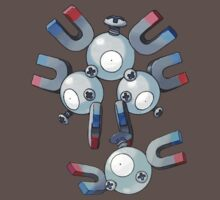 Magnemite and Magneton by Stephen Dwyer