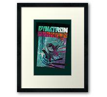 Dynatron Mission Framed Print