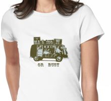 Madison Or Bust! Womens Fitted T-Shirt