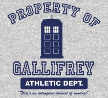 Property of Gallifrey Athletics by beebebros