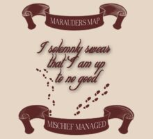 Marauders Map - Mischief Managed by LovelyOwls