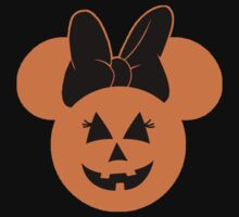 Minnie Mouse Halloween Jack O Lantern Pumpkin by sweetsisters